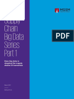 Big Data Analytics Supply Chain Performance