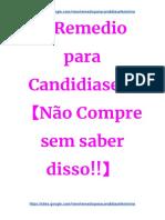 Tratamento Caseiro Para Candidiase - candidiase pdf