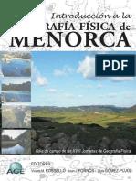 Geografía Física de Menorca