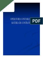 Derecho Admvo Curso de Operatorio Contable de Contratos Del Sector Pc3bablico