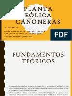 Planta Eólica Cañoneras