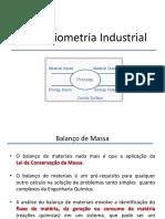 Estequiometria Industrial I - Aula 3 - Balanço de Massa - Estratégia RP