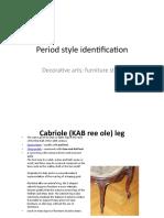 Period Style Identification