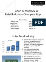 IT in Retail - Shoppers Stop