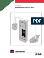 Variador AF95 InstallationManual - Comm Version Rev2