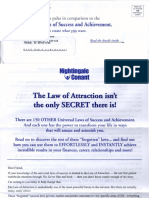 150 Universal Laws of Success and Achievement (Sales Letter)