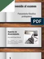 Examen Filosofía Prehispánica _ 2019
