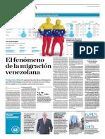 El Fenómeno de La Migración Venezolana