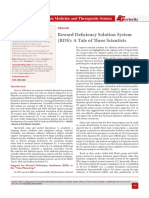 Reward Deficiency Solution System (RDS)
