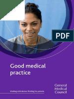 Good Medical Practice English 1215 PDF 51527435