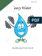 heavy water  pd