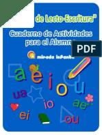 Cuaderno de Actividades LectoEscritura PARTIENDO de PERCEPCION (Copia)
