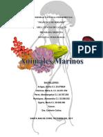 Toxicologia - Animales Marinos