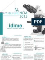 Manual de Referencia Idime 2015