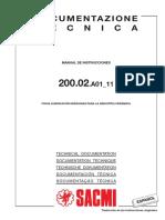 200.02.a01 11 Es x Ficha de Lubricación