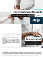 Psicologia Grupal - Na Saúde