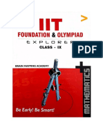 (IIT JEE IITJEE Maths Foundation) BMA Brain Mapping Academy Hyderabad Teachers - BMA Math Class 9 Part 2 from Permutation Combination Standard IX IIT JEE Foundation and Olympiad Explorer Mathematics f.pdf