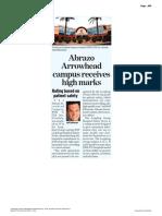 Abrazo Arrowhead campus receives high marks