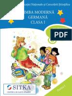 Clasa i - Limba Moderna Germana