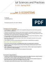 Environmental Sciences and Practices - 03 - Ecosystem