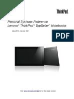 LenovoThinkPadTopSellerTM Notebooks Psref436TS