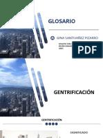 GLOSARIO ARQ X Gina Santivañez