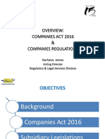 Plenary 1-Session on the Companies Act 2016 and Companies Regulations