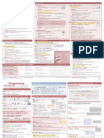 Stat a Cheat Sheets