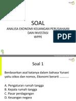 SOAL WPPE-AEKPI