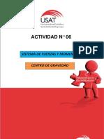 ACTIVIDAD Nº 06 MOMENTO DE FUERZA - CENTRO DE GRAVEDAD..docx