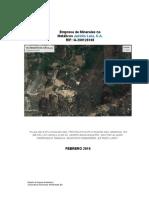 Plan de Explotación Cerro Bachaquero