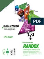 Manual de Tecnicas RANDOX 3a Ed