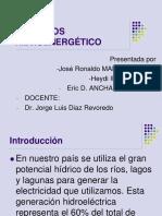 RECURSOS HIDROENERGÉTICOS PARA EXPO