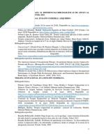Referencias Bibliográficas de Apoyo Al Trabajo Fin de Máster