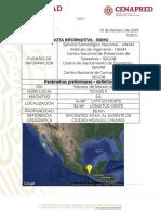 Nota Informativa Por Sismo V1 01febrero2019!10!14h Chiapas