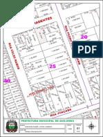 Mapa de Quadras 25