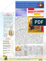 Boletin 19 Año I Domingo de La Samaritana