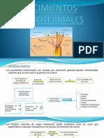 GRUPO 1 - Yacimientos Hidrotermales