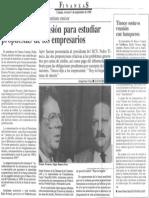 BCV Creara Comision Para Estudiar Propuestas de Los Empresarios - Diario Economia Hoy 08.09.1989