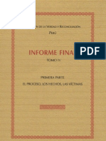 Informe Final de la Comisión de la Verdad y Reconciliación - Tomo IV - Perú