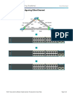 4.2.1.3 Packet Tracer - Configuring EtherChannel