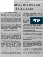 Edgard Romero Nava - Empresarios Esperaban La Libertad de Zuloaga - El Nacional 06.10 .1989