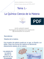 Química -Ciencia de La Materia
