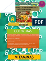 Vitaminas Como Coenzimas - Expo