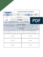 Formato QAQC Preparacion de Superficie y Recubrimiento
