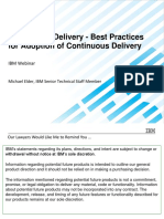 Continuous Delivery - Best Practices for Adoption of Continuous Delivery