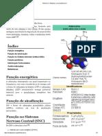 Adenosina – Wikipédia, A Enciclopédia Livre