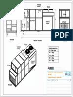 Plano Dimensional Gama Abce Autocad
