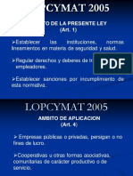 LOPCYMAT(1)