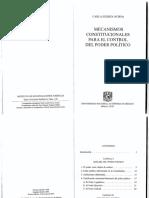Huerta, Carla. Mecanismos Constitucionales Para El Control Del Poder Político (Cap. I y Cap. VII)